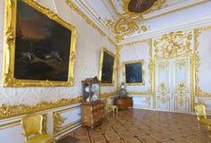 Binnenland van Catherine Palace Stock Fotografie
