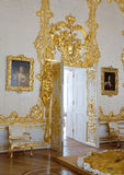 Binnenland van Catherine Palace Stock Afbeeldingen