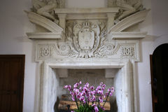Binnenland van Chateau DE Chenonceau, Vallee DE La de Loire, Frankrijk Royalty-vrije Stock Afbeelding