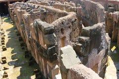 Binnenland van Coliseum - Rome Stock Fotografie