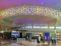 Binnenland van Dallas Love Field-luchthavenachtergrond Royalty-vrije Stock Afbeeldingen