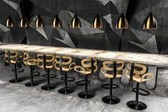 Binnenland van de barteller Royalty-vrije Stock Afbeeldingen