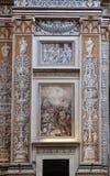 Binnenland van de basiliek van Heilige Andrew in Mantua, Italië Royalty-vrije Stock Afbeeldingen
