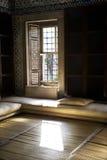 Binnenland van de bibliotheek van Ahmet III Royalty-vrije Stock Foto's