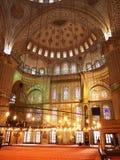 Binnenland van de Blauwe moskee Royalty-vrije Stock Afbeelding