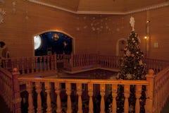 Binnenland van de eerste verdieping van de huisvader Frost Stock Fotografie
