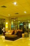 Binnenland van de hotelruimte Stock Foto