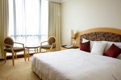 Binnenland van de hotelruimte Royalty-vrije Stock Afbeeldingen
