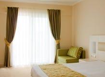 Binnenland van de hotelruimte Royalty-vrije Stock Foto