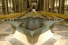 Binnenland van de Kathedraal van Salisbury Royalty-vrije Stock Afbeelding