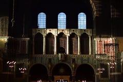 Binnenland van de kathedraal van Westminster in Londen stock fotografie