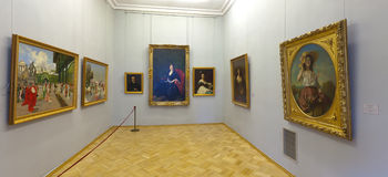 Binnenland van de Kluis van de Staat. Heilige Petersburg Royalty-vrije Stock Fotografie