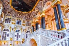 Binnenland van de Kluismuseum van de Staat, St. Petersburg, Rusland royalty-vrije stock fotografie