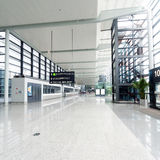 Binnenland van de luchthaven stock fotografie
