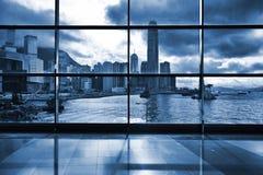 Binnenland van de moderne bouw in Hong Kong Royalty-vrije Stock Afbeelding