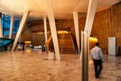 Binnenland van de Opera van Oslo in Noorwegen royalty-vrije stock afbeelding