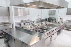 Binnenland van de professionele keuken royalty-vrije stock fotografie
