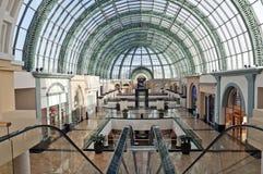 Binnenland van de Wandelgalerij van de Emiraten Stock Foto
