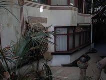 Binnenland van de zeer mooie verlaten bouw in stad Royalty-vrije Stock Foto's