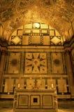 Binnenland van Doopkapel, Florence, Italië Stock Foto