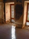 Binnenland van Dowlatabad huis, Esfahan Stock Afbeeldingen