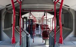 Binnenland van een bus Stock Afbeeldingen