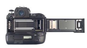 Binnenland van een filmcamera Stock Foto