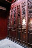 Binnenland van een Hui-woonplaats, China Royalty-vrije Stock Afbeelding