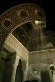 Binnenland van een Islamitische tempel Royalty-vrije Stock Afbeelding