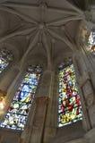 Binnenland van een kerk Royalty-vrije Stock Fotografie