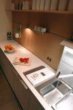 Binnenland van een keuken Stock Afbeeldingen