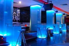 Binnenland van een Lege Nachtclub Stock Afbeelding