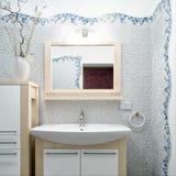 Binnenland van een nieuwe badkamers Stock Foto
