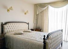 Binnenland van een slaapkamer Stock Afbeelding