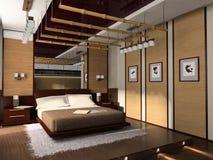 Binnenland van een slaapkamer vector illustratie