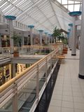 Binnenland van een winkelcomplex Stock Foto