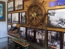 Binnenland van Ernest Hemingway House, Key West Stock Afbeeldingen