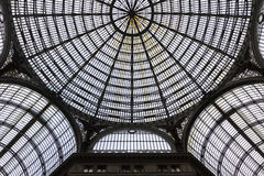 Binnenland van Galleria Umberto I in Napels, Italië royalty-vrije stock afbeeldingen