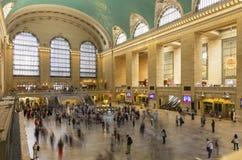 Binnenland van Grand Central Eind, Uit het stadscentrum, de Stad van New York Royalty-vrije Stock Foto's