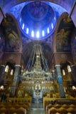 Binnenland van Griekse Orthodoxe Kerk Royalty-vrije Stock Foto