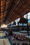 Binnenland van Grote Marktzaal in Boedapest Royalty-vrije Stock Foto