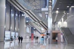 Binnenland van het commerciële centrum stock afbeelding