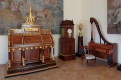 Binnenland van het de Kluismuseum van de Staat stock afbeeldingen