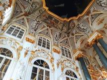 Binnenland van het de Winterpaleis, het de Kluismuseum van de Staat royalty-vrije stock fotografie