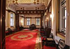 Binnenland van het erfenis het Chinese Herenhuis Royalty-vrije Stock Afbeelding