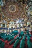 Binnenland van het Graf van Sultan Selim II stock afbeelding