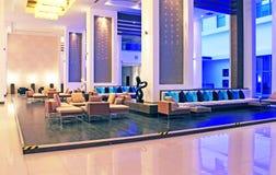 Binnenland van het hotel royalty-vrije stock afbeeldingen