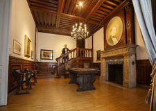 Binnenland van het Huis van muziek Wenen, Oostenrijk royalty-vrije stock fotografie