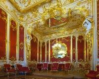 Binnenland van het Paleis van de Winter. Heilige Petersburg Royalty-vrije Stock Fotografie