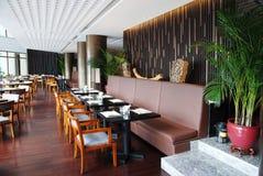 Binnenland van het restaurant royalty-vrije stock fotografie